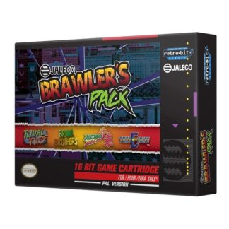 Jaleco Brawlers Pack SNES - Retro Gaming - Super Nintendo Entertainment System - Action