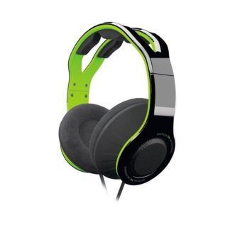 Gioteck TX-30 Stereo Gaming Headset for Xbox One - Green - Headset - Microsoft Xbox One S