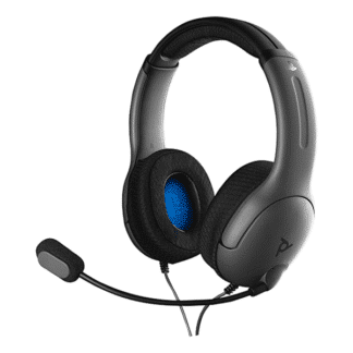 PDP Afterglow LVL40 Wired Stereo - Grey - Headset - Sony PlayStation 4