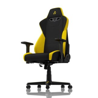 Nitro Concepts S300 Gaming Chair - Astral Yellow Gamer Stol - Sort / Gul - Stof - Op til 135 kg